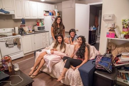 Adriana, Alejandra, Nina and Britney