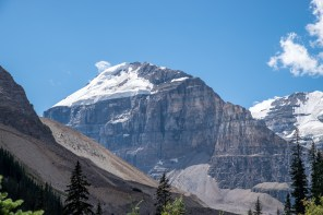Up to the Plain of Six Glaciers