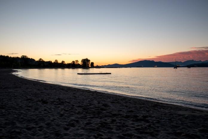 Sunset at Jericho beach