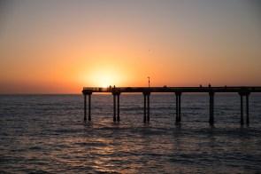 fistpump at sunset