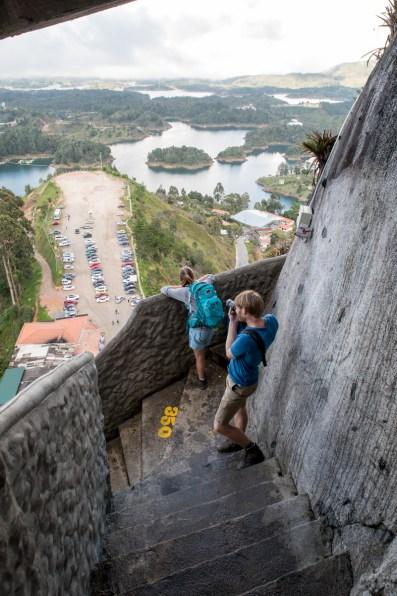 climbing la Piedra
