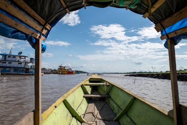 Crossing the amazon