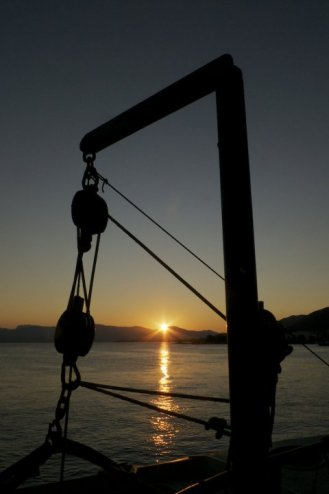 Dawn on the Ferry