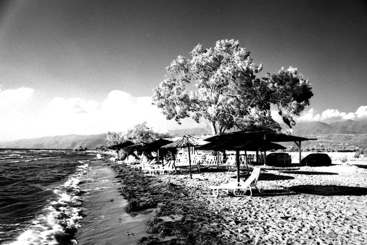 Arapis Beach in Infrared.