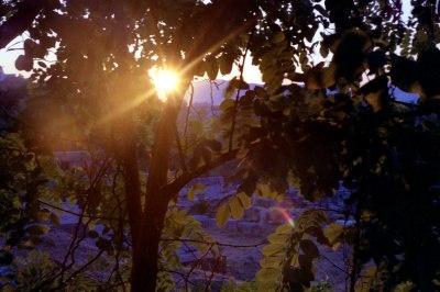 The Sun Sets