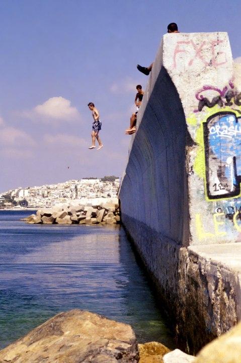 Walking in the Air (Seaside Wall 3)