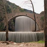 Waterfalls and Bridge
