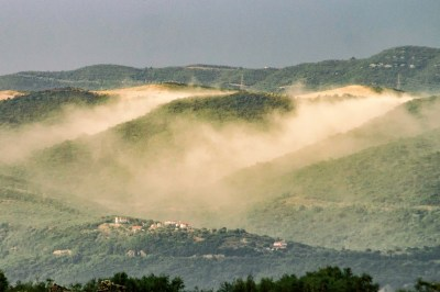 Sandstorm on the Mountain