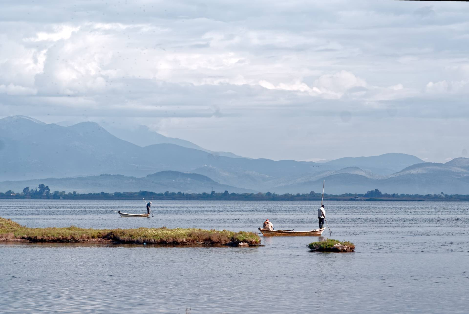 Fishermen at Northern Amvrakikos Gulf