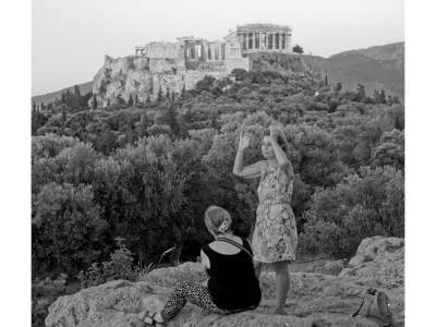 Scene Below the Acropolis