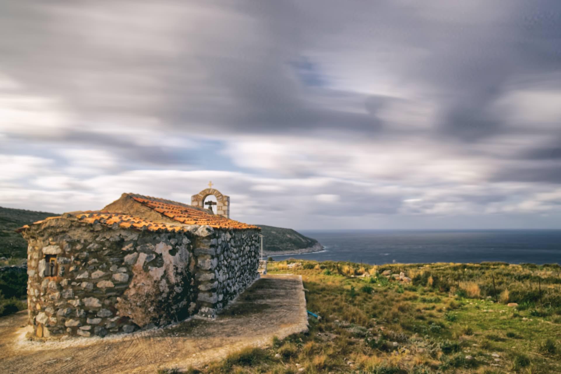 Church Overlooking the Sea