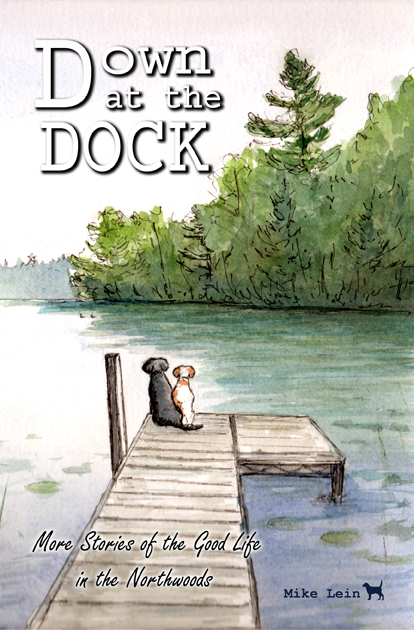 Down at the dock, Mike Lein