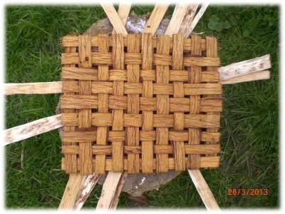 bushcraft | bark weaving
