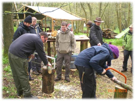 Bushcraft training course