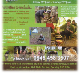 Bushcraft Courses | Field Studies Council