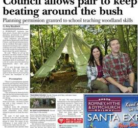 Ashord Herald | Bushcraft | South East | Kent