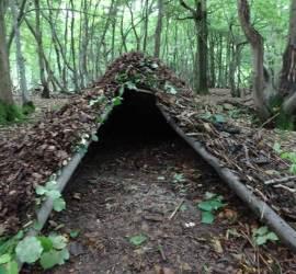 debris shelter building | south east | Kent