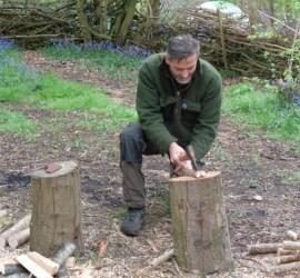 splitting with an axe | axe course | Kent | London | south east