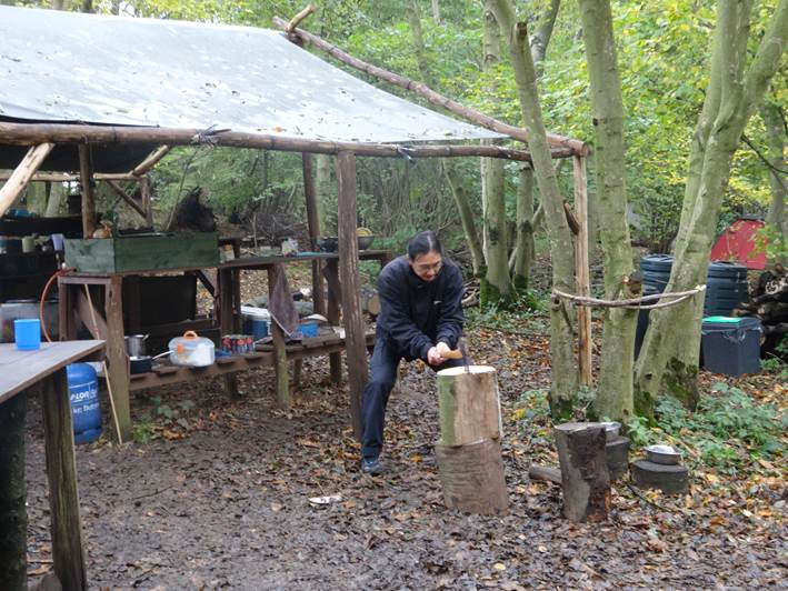 axe course | bushcraft | south east | Kent