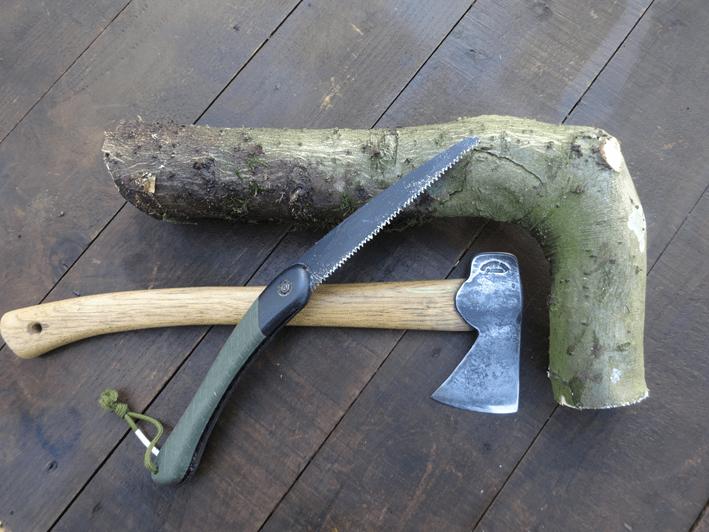 bronze age axe handle