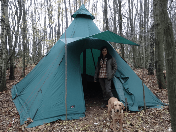 new tent | bushcraft | south east
