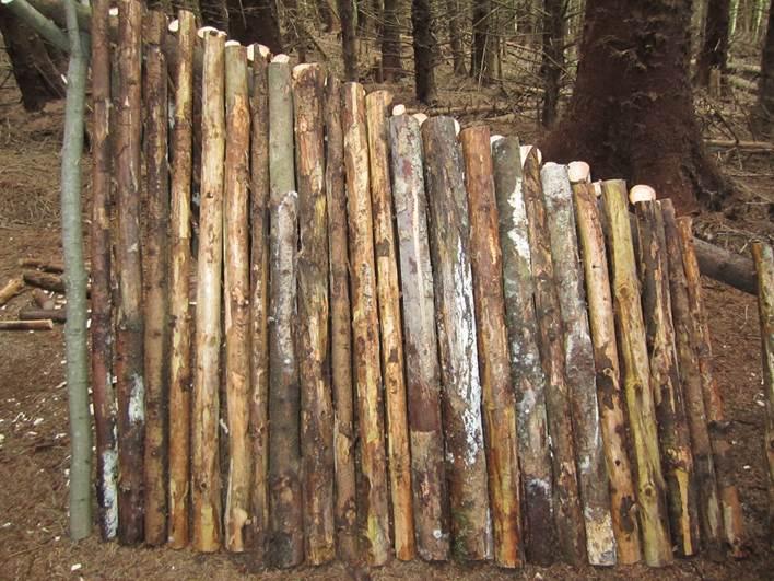 Debris shelter - no gaps!
