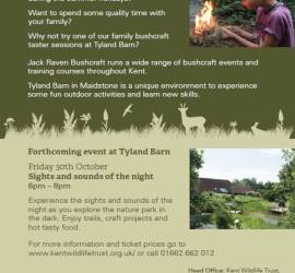family bushcraft course in kent