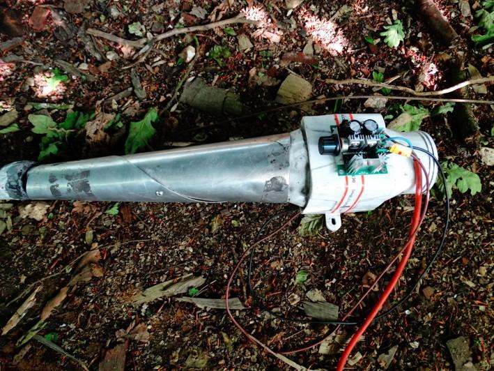 Bilge pump instead of bellows