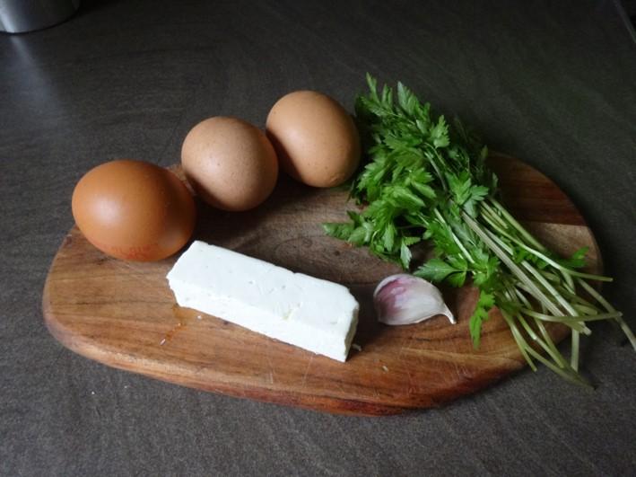 cow parsley frittata