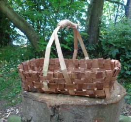 bark basket making | Kent | south east | London | Essex