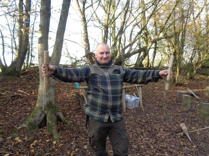 woodland handbag | fire lighting | bushcraft | Kent | south east | London