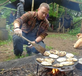 flat breads | foraging | Kent | south east | London