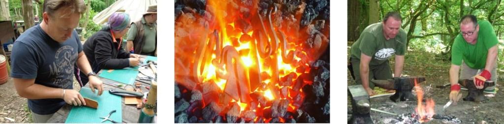forge & fire | fire steel | flint & steel | Kent | London | south east