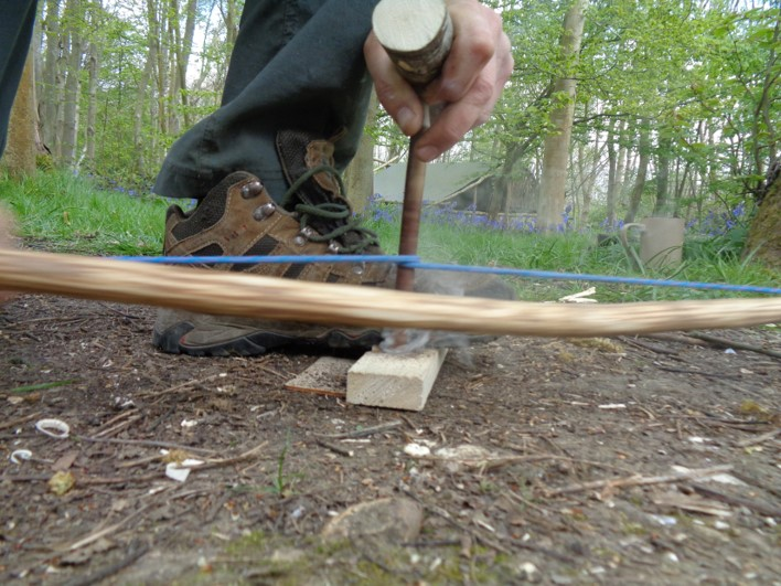 bow drilling   bushcraft   Kent   London   south east