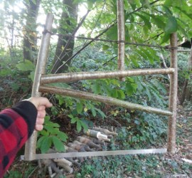 how to make a buck saw | bushcraft | Kent | south east | London