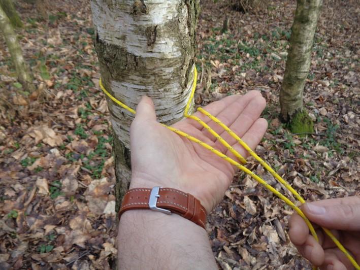 evenk knot | siberian hitch | bushcraft | Kent | south east | London