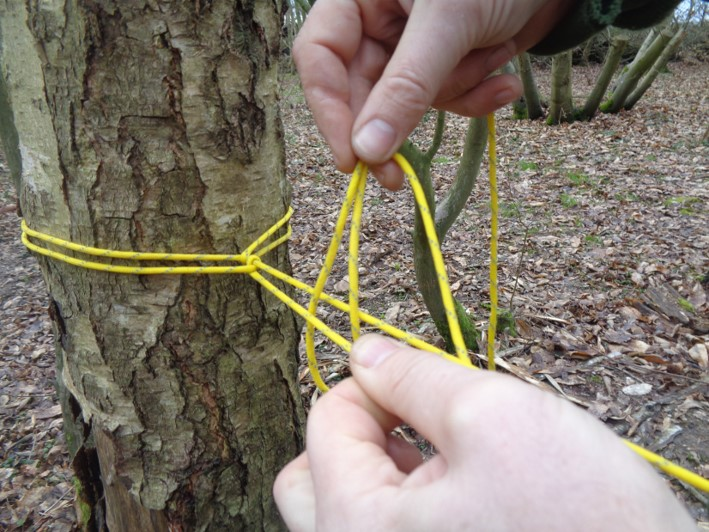 taut line hitch | tarps | hammocks | bushcrfat | Kent | London | south east