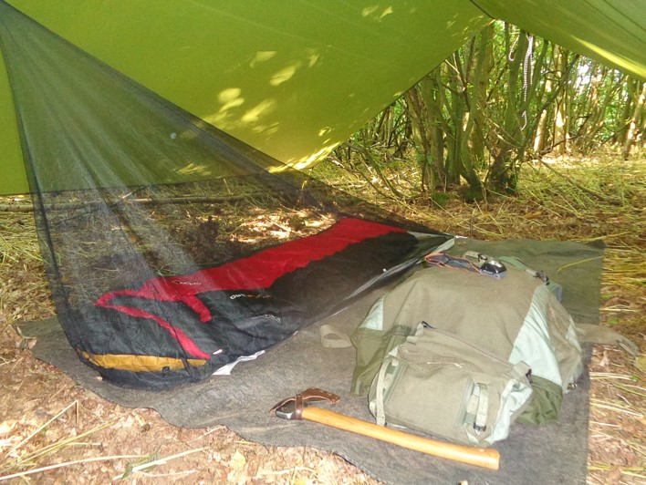 selecting a tarp | bushcraft | Kent | south east | London