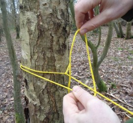 how to tie a taut line hitch | tarps | hammocks | bushcrfat | Kent | London | south east