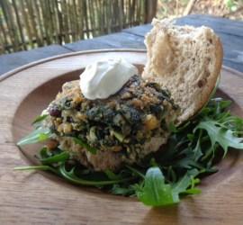 nettle burgers | foraging | wild foods | Kent | south east | London