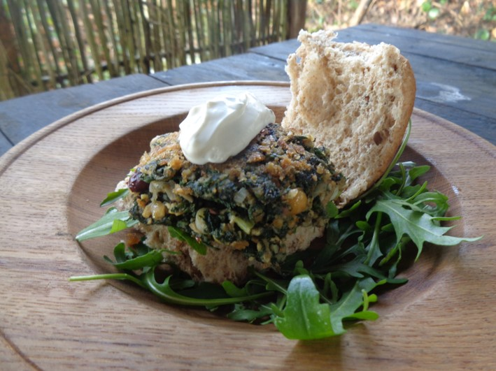 nettle burgers   foraging   wild foods   Kent   south east   London