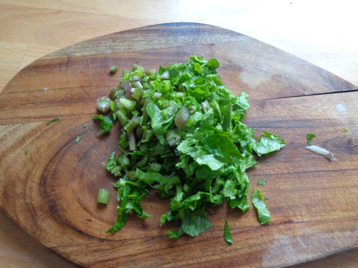 Alexanders & potato scone melts   wild food   foraging   Kent   London   south east