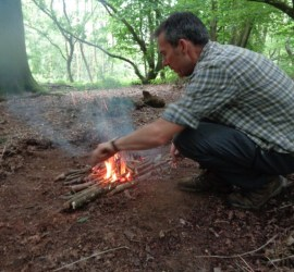 how to light a fire | bushcraft | Kent | south east | London