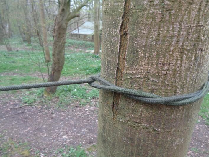 timber hitch | bushcraft | knots | Kent | south east | London
