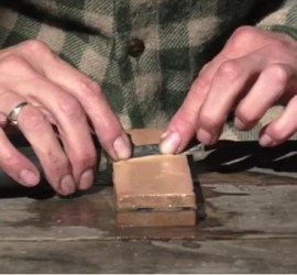knife sharpening | how to sharpen a bushcraft knife | Kent | south east | London