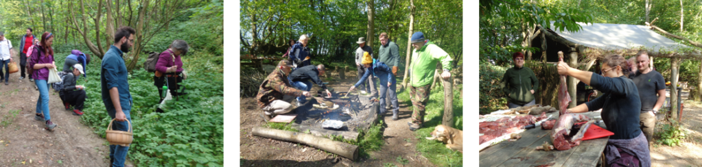 hunter gatherer course | game preparation | foraging course | Kent | London | south east