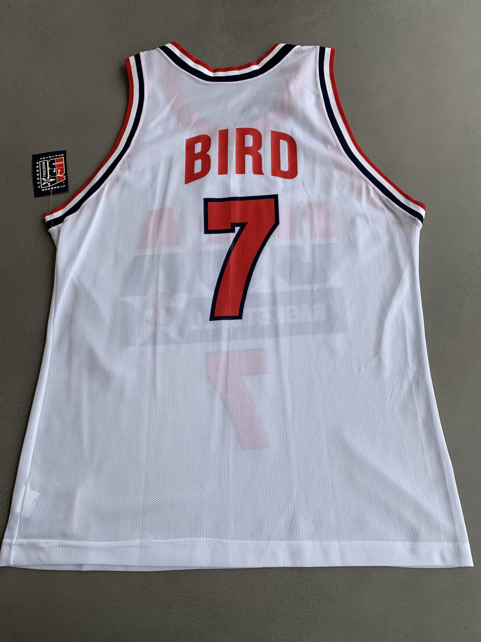 Wholesale Tennis Jerseys Champion Larry Bird Olympics