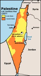 UN Partition Plan 1947