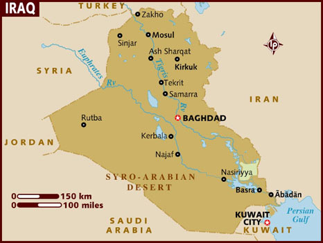 map_of_iraq