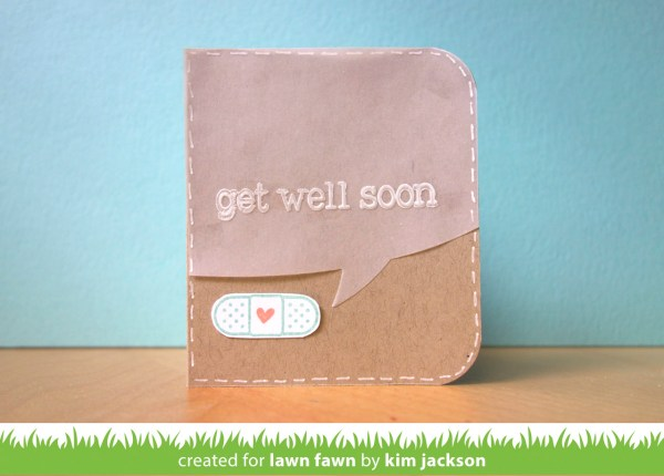Get Well Soon Notecard